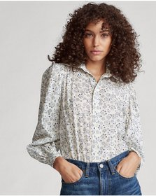 Ralph Lauren Floral Cotton Shirt