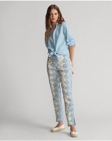 Ralph Lauren Patchwork Cotton Pant