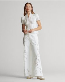 Ralph Lauren BB Wide-Leg Crop Jean