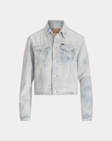 Ralph Lauren Bleached Denim Trucker Jacket