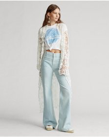 Ralph Lauren Cotton Lace Duster