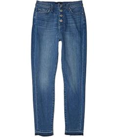 7 For All Mankind High-Waist Ankle Skinny in Shore