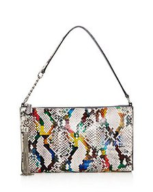 Jimmy Choo - Callie Mini Snakeskin Shoulder Bag