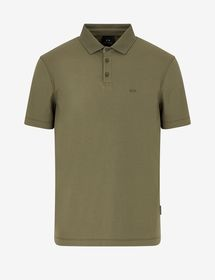 Armani REGULAR-FIT ALL-OVER LOGO POLO