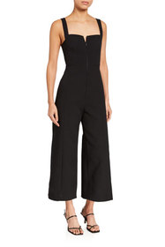C/MEO Consumed Strappy Wide-Leg Jumpsuit