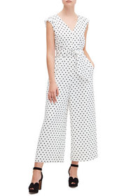kate spade new york cabana dot jumpsuit