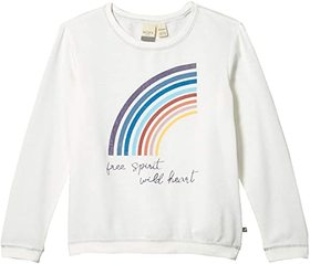 Roxy Kids Low Rising Fleece Top (Little Kids/Big K