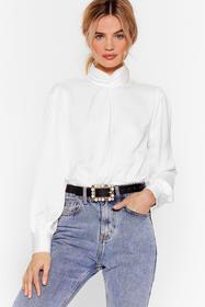 Nasty Gal Black Act Like You Square Embellished Be