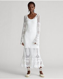 Ralph Lauren Crocheted Cotton Dress