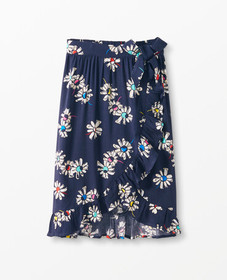 Hanna Andersson Faux-Wrap Skirt