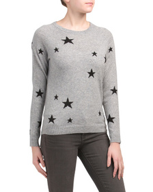 PHILOSOPHY Cashmere Scattered Stars Sweater