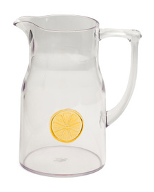 C&C CALIFORNIA Outdoor Citrus Medallion Pitcher