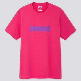 Fortnite Ut (Short-Sleeve Graphic T-Shirt), Pink,