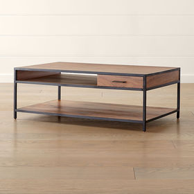 Crate Barrel Knox Storage Coffee Table