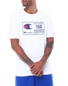 Champion 100 behind the label heritage tee