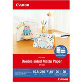 """Canon 7x10"""" MP-101D Double-Sided Matte Photo Paper"""