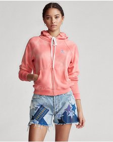 Ralph Lauren Tie-Dye Fleece Full-Zip Hoodie