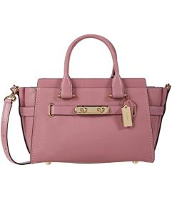 COACH Swagger 27 in Pebbled Leather