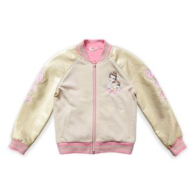 Disney Belle Varsity Jacket for Kids – Beauty and