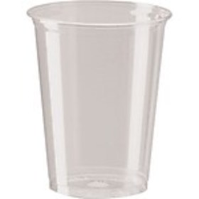 Dixie PETE Plastic Cold Cups, 10 oz., Clear, 500/C