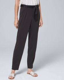 Sandwashed Tapered Ankle Pants