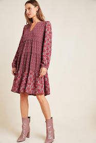 Anthropologie Amber Tiered Tunic