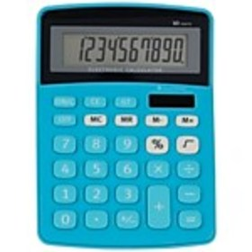 55744US 10-Digit Display Calculator, Assorted Soli