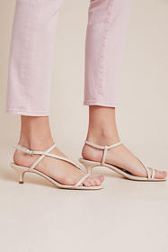 Anthropologie Sanctuary Wave Strappy Heeled Sandal