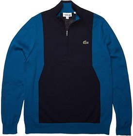 Lacoste Long Sleeve 1/4 Zip Sweater