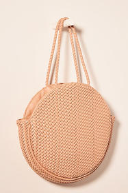 Anthropologie Alison Woven Tote Bag