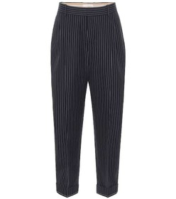 Chloé Striped virgin wool pants
