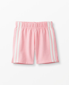 Hanna Andersson Sidestripe Shorts In French Terry