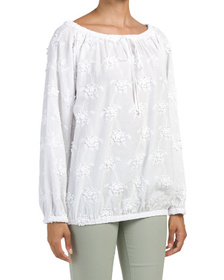 LOVE MOSCHINO Embroidered Top