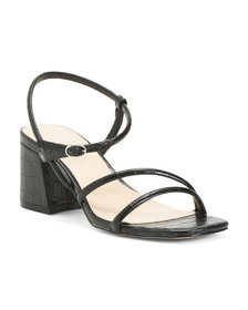 NINE WEST Barely There Strappy Sandals