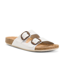 Made In Spain 2 Bands Leather Sandals