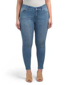 SEVEN7 Plus Fit Solution Tummyless Skinny Jeans