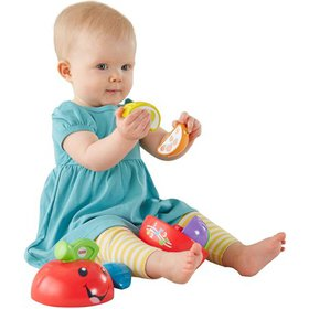 Fisher-Price Laugh & Learn Learning Happy Apple Ba