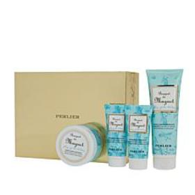 Perlier Bath and Body 4-piece Gift Set