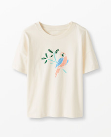 Hanna Andersson Soft Graphic Boxy Tee
