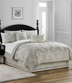 Waterford Fairlane Damask Comforter Set