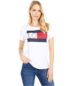 Tommy Hilfiger Short Sleeve Love Flag Tee