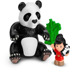 Fisher-Price Little People Giant Panda Doll, Movab