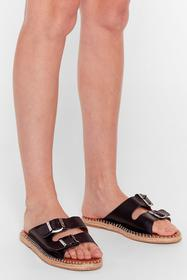Nasty Gal Black You Know the Espadrille Faux Leath
