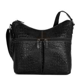 Jack Georges Hornback Croco Collection Uptown Hobo