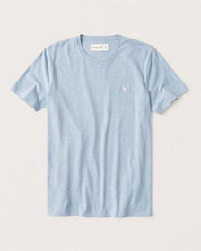 Short-Sleeve Icon Tee, LIGHT BLUE
