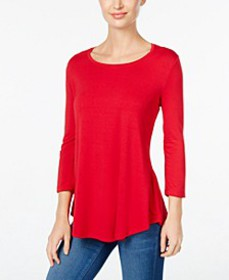 Scoop-Neck Top, In Regular and Petite, Created for