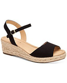 Lucia Platform Wedge Sandals, Created for Macy's