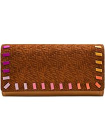 Fossil Fossil - Logan Flap Clutch. Color Tan 1. On