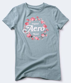Aeropostale Aero Original Brand Flower Ring Graphi