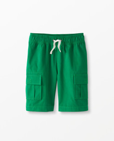 Hanna Andersson Cargo Shorts in Cotton Canvas